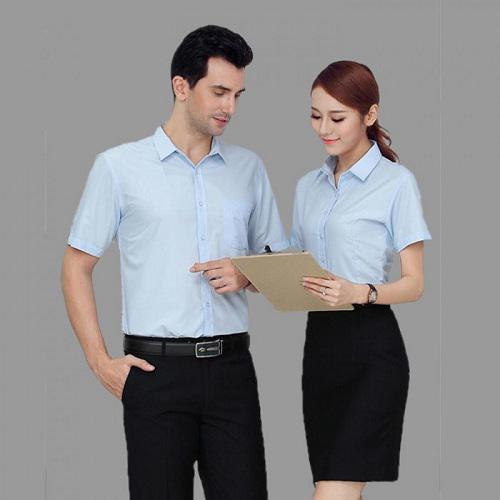 Xu hướng đồng phục áo sơ mi công sở hiện nay