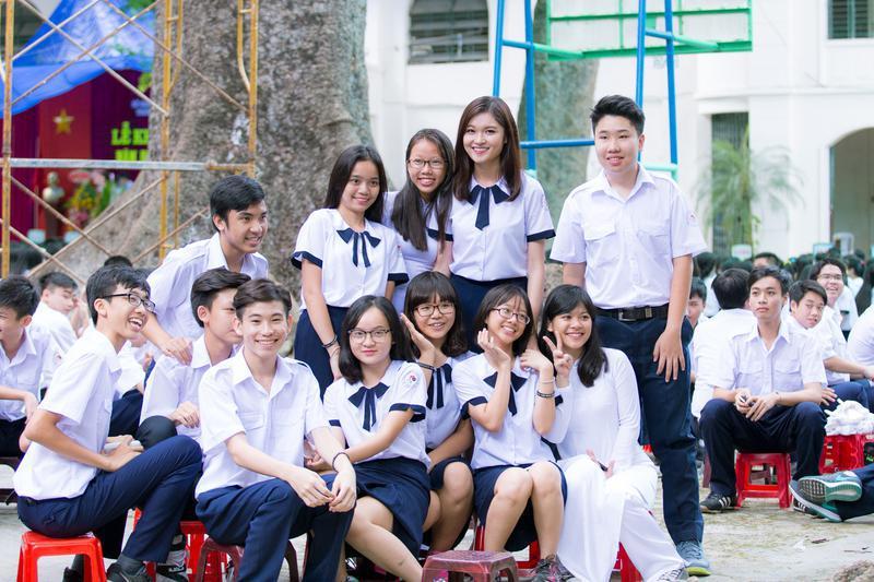 Nét đẹp của đồng phục học sinh Việt Nam